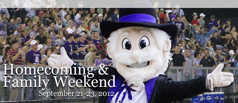Curry's Homecoming and Family Weekend Takes CenterStage