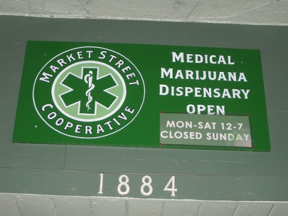 Medical marijuana dispensaries, such as this one, are coming to Massachusetts. // PHOTO BY http://www.flickr.com/photos/goodnight_london/4769506826/sizes/m/in/photostream/