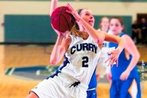 Kylie Beltz led the Colonels with a team-high 17 points. // Photo courtesy of Curry Athletics.