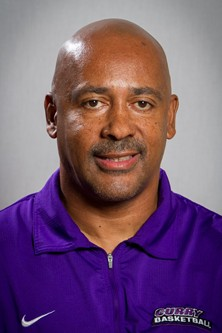 Men's basketball coach Malcolm Wynn // COURTESY OF CURRY ATHLETICS