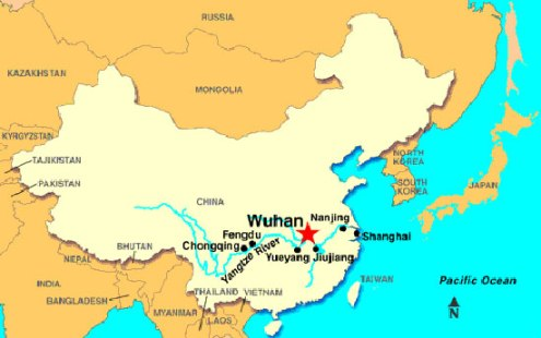 Ruth Sherman and Keith Robichaud visited Wuhan, a Chinese city similar to Milton in demography.