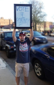 In between classes and hockey, Ian Delong has worked for BarstoolSports and its colorful president, David Portnoy.