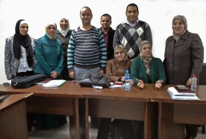Doctoral students in the nursing program at the University of Jordan. // PHOTO BY SUSAN LAROCCO