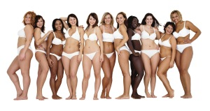 "Dove has promoted self confidence with its various ad campaigns that highlight ""real"" women's body types."