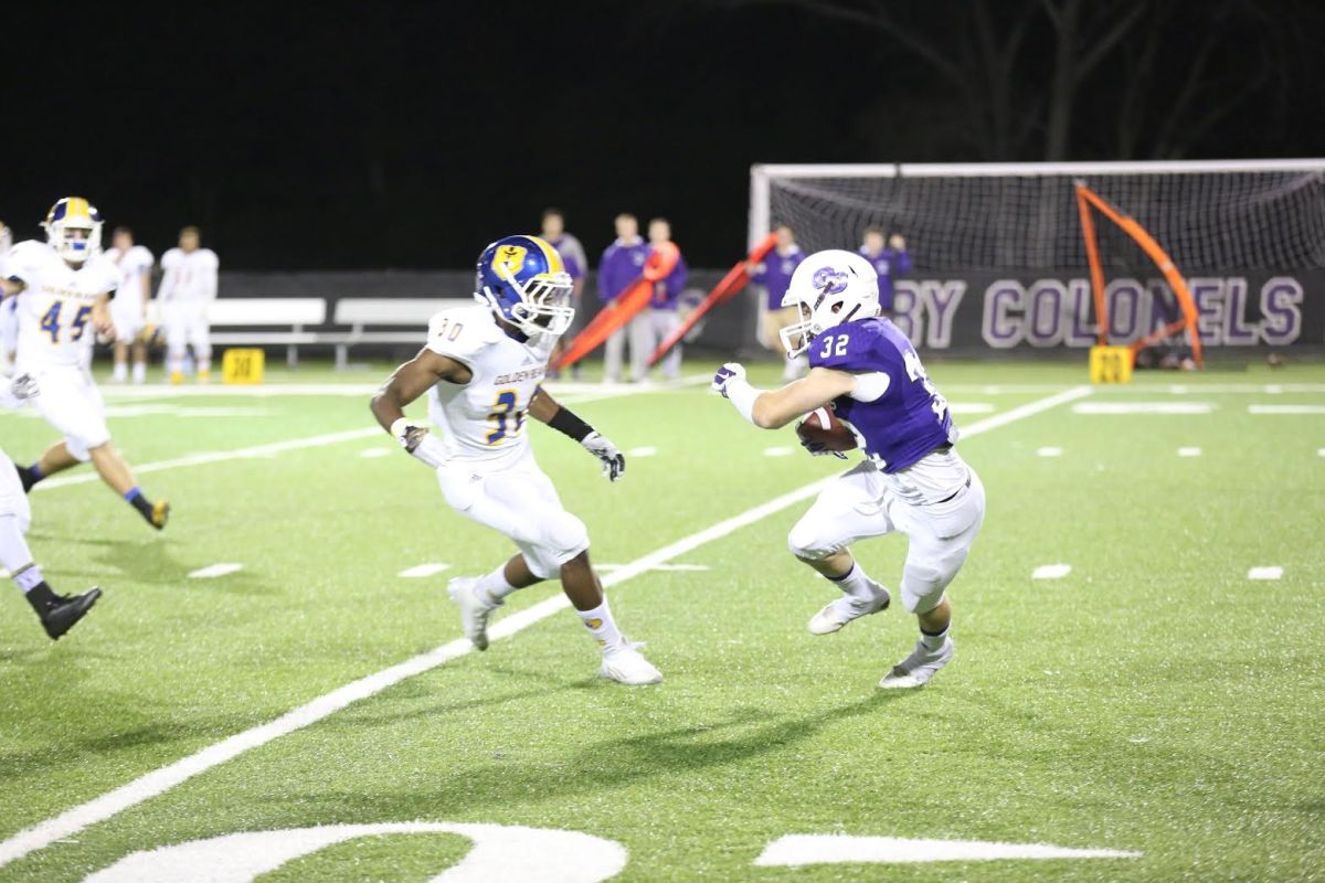 Colonel Football Disappoints atHomecoming