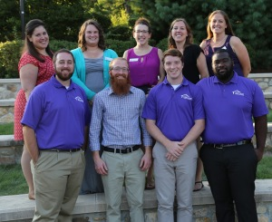 Residence Life Professional Staff. // PHOTO COURTESY OF CURRY COLLEGE.