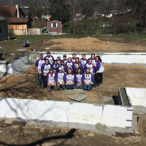 Alternative Spring Break: Building Houses, Making Homes