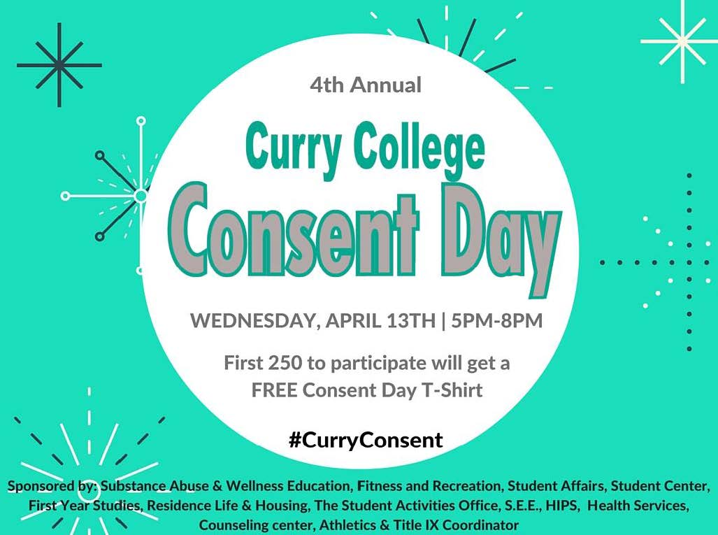 Preparing for Curry College's Fourth Annual Consent Day