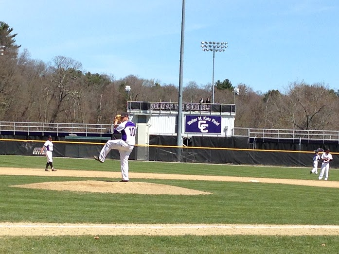 Junior righty Brian Burke took the mound for the Colonels in Game 1 // Photo by Cole McNanna