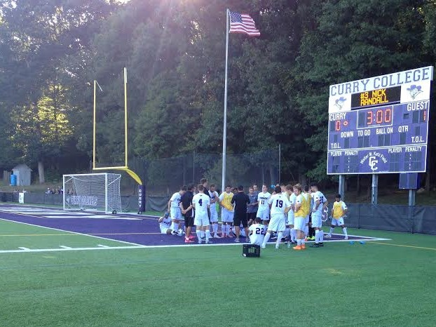 Men's Soccer Suffers Overtime Loss Against Roger Williams, 2-1