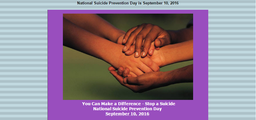 Curry College Advocates for SuicidePrevention
