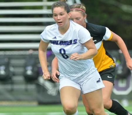 Women's Soccer ties University of New England to keep playoff hopes alive