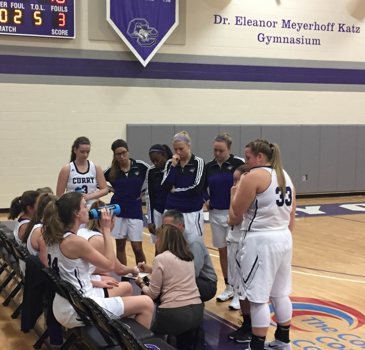 Women's basketball falls in opening round of CCC Tournament