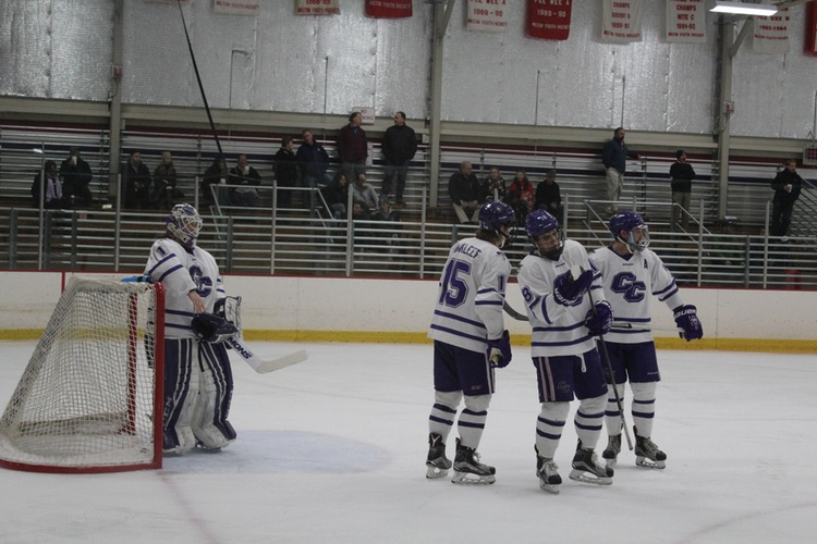 Men's Hockey comes up short in CCC Quarterfinal