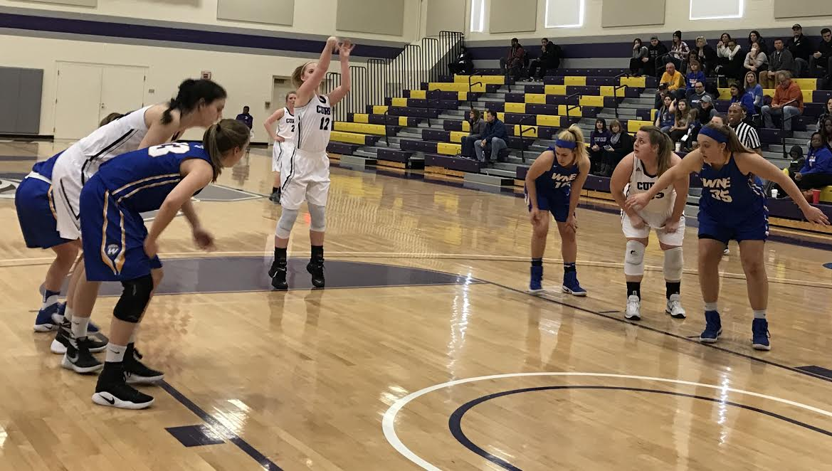 Women's Basketball Falls Short in ConferenceAction