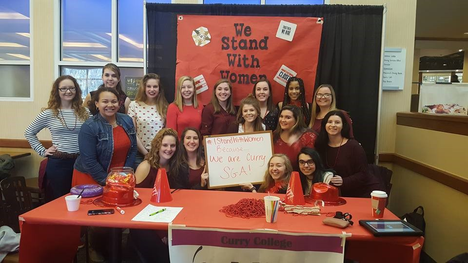 SGA Participates in International Women's Day