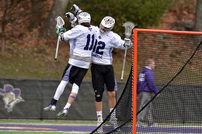 In Victory, Men's Lax Clinches CCC Tournament Berth