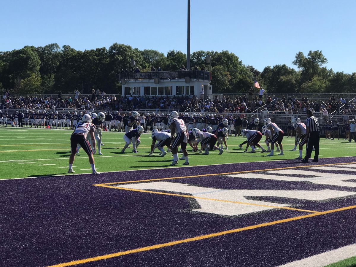 Football Suffers First Loss at the Hands of Non-Conference Union College, 17-14
