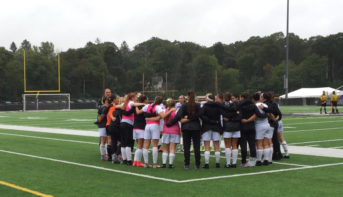 Women's Soccer Blanks Thomas College in HomeOpener