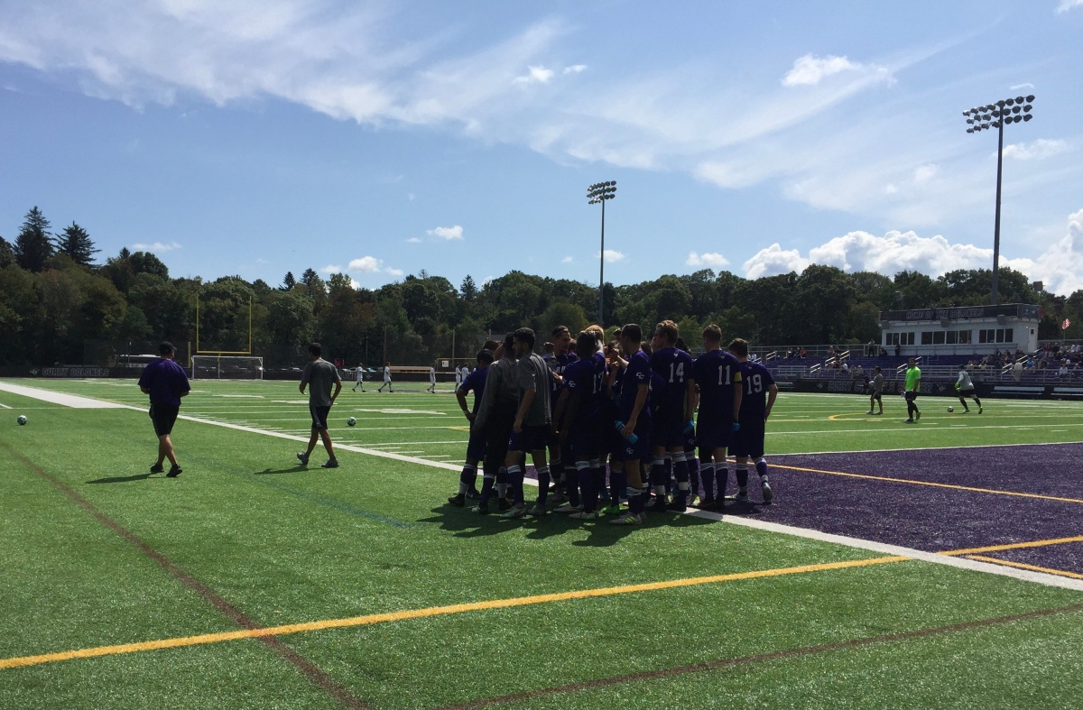 Men's Soccer Shuts Out Johnson State, 5-0