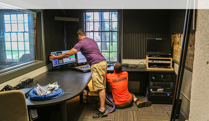 Curry College Radio Station Gets State-of-the-Art Renovation