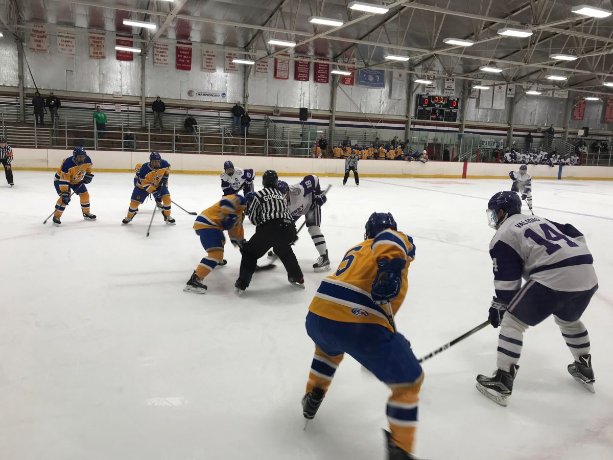 Hockey Skates to 2-2 Tie with Western New England in CCCAction