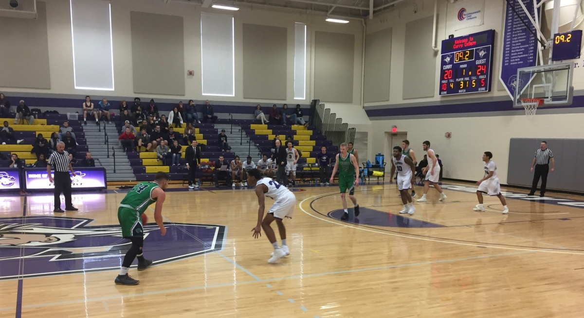 Men's Basketball Falls to Endicott, 72-62